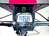 HAPO-G 11202196Cestino anteriore per bicicletta elettrica Unisex adulto, Nero