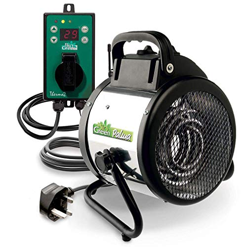 Bio Green PAL 2.0/GB 2KW Palma Heater with Digital Thermostat