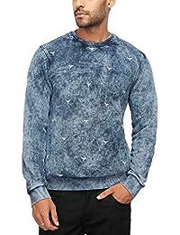 Octave Mens Round Neck Printed Sweatshirt