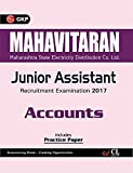 Mahavitaran (Maharashtra State Electricity Distribution Co. Ltd.) Junior Assistant, Accounts 2017