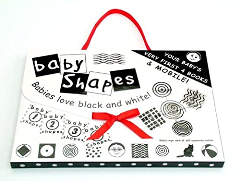 Baby Shapes 4 Books and Mobile