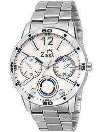 Ziera ZR7019 Silver Stylish Analog Watch - For Men