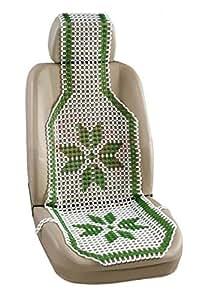 Speedwav 20385 Acupressure Design Marble Bead Seat (Green)