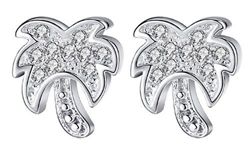 saysure-925-sterling-silver-palm-tree-stud-earrings