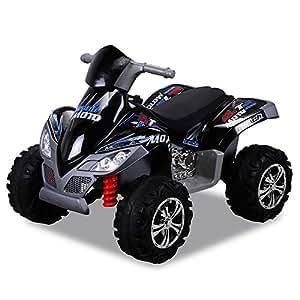 Dostar prise électrique pour enfant quad kL - 266 avec éclairage 2 x 30 w noir