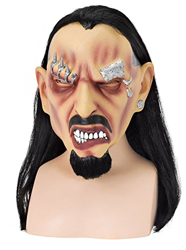 Bart Kostüm Assistent - Bristol Novelty bm382durchbrochen Freak Maske (One Size)