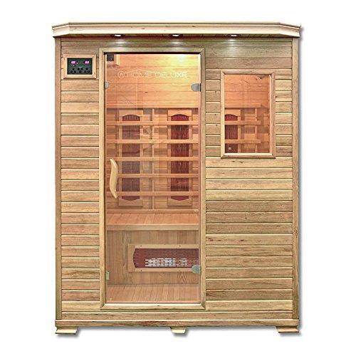 Home Deluxe – Infrarotkabine – Redsun L