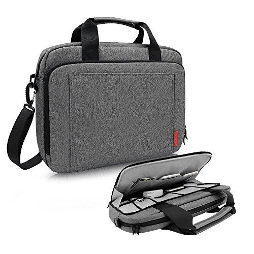 iCozzier 15-15.6 Zoll Laptoptasche mit Handgriff und Schultergurt sowie Schutzhülle Botetasche mit Elektronik Zubehör Lagerung für Ultrabook/Notebook/MacBook
