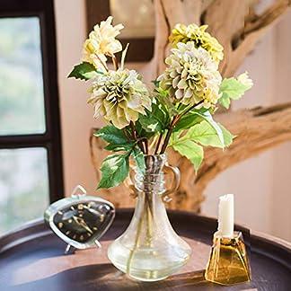 yueyue947 Decoración Floral del Festival de la Boda de la Flor/de la Flor Artificial de la Dalia/de la Falsa de la Dalia /