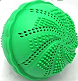 Laundry Washing Ball by ECO SPIN - Used up 1000 Loads - 1 Unit - Eco-Friendly All Natural Detergent Alternative - Wash Ball for Washing Machine Easy to Use Perfect Gift Save Money Bra Cup