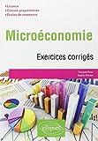 Microéconomie Exercices Corrigés