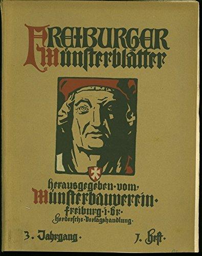 Die Wasserspeier am Freiburger Münster, in: FREIBURGER MÜNSTERBLÄTTER, Nr. 1 / 1907.