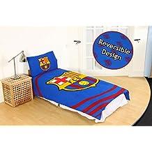 Oficial de Barcelona Football Club FCB edredón juego de cama solo doble Camp Nou, Barcelona - Pulse Duvet, suelto