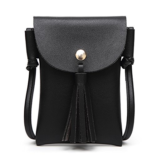 Mefly Spalla Fashion Mini Borsa Sacchetta Verde black