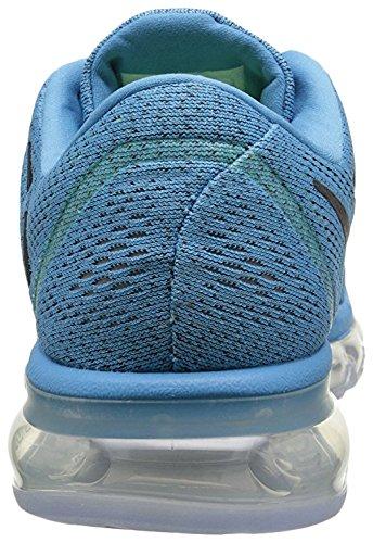 Nike Herren Air Max 2016 Low-top, 44 Eu Azul / Negro (blu Laguna / Nero Coraggioso Blu)