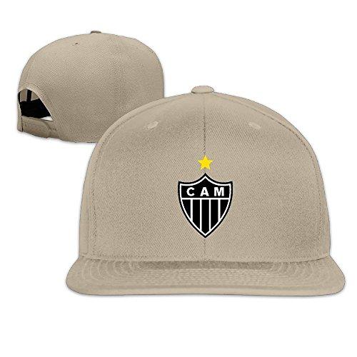 Hittings Atletico Mineiro Baseball Cap Hip-Hop Style Natural par  Hittings