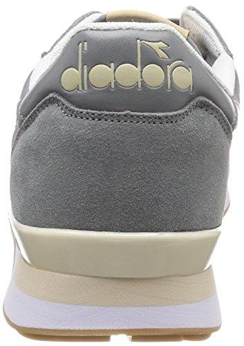 Diadora Camaro Sneaker Uomo Grigio gr Cenere Beige Candeggiato