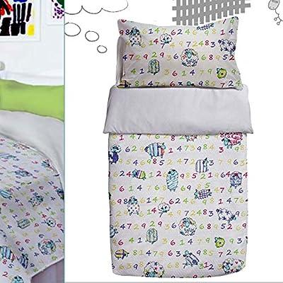 610030 Saco Nórdico Invierno Cuna 60x120cm LittleDiver White (Obsequio Guía de guías para padres)