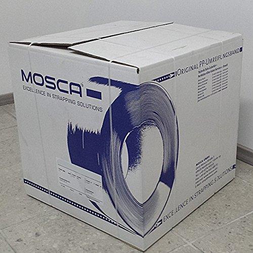2x Mosca Umreifungsband 8mm, je 4500 mtr, PP 8 x 0, gebraucht kaufen  Wird an jeden Ort in Deutschland