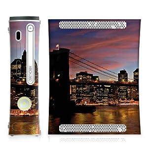 DeinDesign Microsoft Xbox Folie Skin Sticker aus Vinyl-Folie Aufkleber New York Night Stadt City