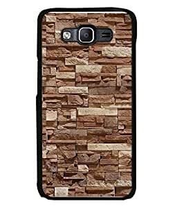 FUSON Designer Back Case Cover for Samsung Galaxy On7 G600Fy :: Samsung Galaxy Wide G600S :: Samsung Galaxy On 7 (2015) (Stone arts Rocks Pattern Crazy Paradigm)