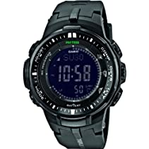 Casio Herren-Armbanduhr XL Pro Trek Digital Quarz Resin PRW-3000-1AER
