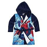 Spiderman Bademantel, blau, Gr. 104-140 Größe 110