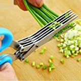 Best Herb Scissors - Goodrich Multi-Functional Stainless Steel Kitchen Knives 5 Layers Review