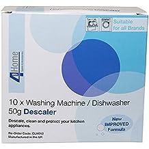 4YourHome Universal machine à laver et lave-vaisselle détartrant Poudre avec Nouvelle Formule améliorée, 10x...