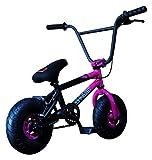 FatBoy Mini BMX Bicycle Freestyle Bike Fat Tires, 2 Tone, Pink Black