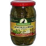 Gewürzgurken von Spreewald-Rabe (370 ml Glas)