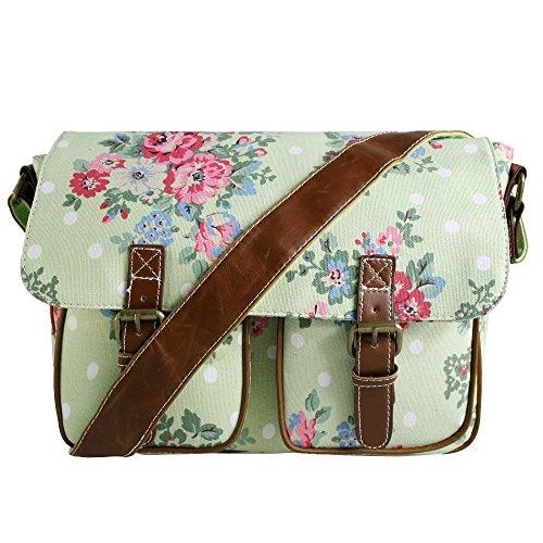 miss-lulu-bag-green-fiore-canvas-cartella-delle-donne