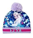Frozen Mütze Gr.52, Farbe Blau
