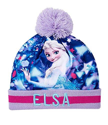 Disney frozen - il regno di ghiaccio ragazze berretto di lana - blu - 52