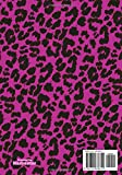 Jenifer: Personalized Pink Leopard Print Notebook (Animal Skin Pattern). College Ruled (Lined) Journal for Notes, Diary, Journaling. Wild Cat Theme Design with Cheetah Fur Graphic