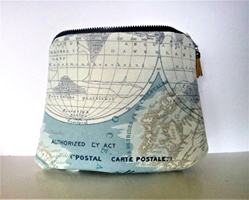 Kosmetiktasche Taschen-Organizer Canvas Atlas