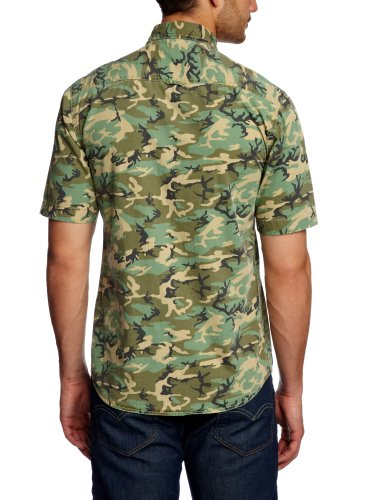 Jack And Jones Vintage - Chemise - Homme Vert (Cornstalk)