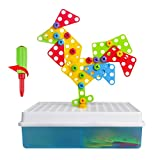 Best Créativité pour les enfants de 1 an Livres - Jeu Construction 3D Jeu Assemblage Blocs Plastique Jouet Review