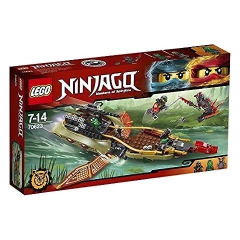 LEGO - 70623 - NINJAGO - Jeu de Construction - La poursuite en vol