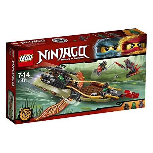 Preisvergleich Produktbild Lego 70623 Ninjago Schatten des Ninja-Flugseglers, Spaßiges Spielzeug