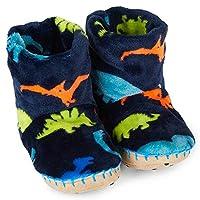 Hatley Dino Herd Fleece Slippers