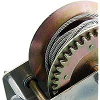 Generic o-1-o-3755-o & 10M K cabrestante cable de mano y 1200LB coche barco cabrestante & cable & gancho Avy Dut Heavy Duty NV _ 1001003755-nhuk17_ 1174