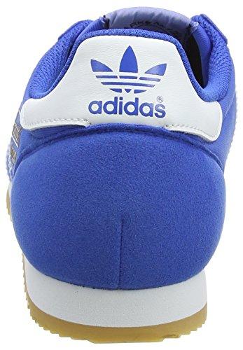 adidas Unisex-Erwachsene Dragon OG Sneakers, Schwarz Blau (Blue/footwear White/gum)