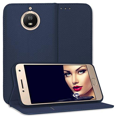mtb more energy® Schutz-Tasche Bookstyle für Motorola Moto G5S (XT1793/XT1794 / 5.2