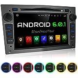 """XOMAX XM-2DA704 Opel / Corsa / Astra / Zafira etc. Android 6.0.1 Autoradio / Moniceiver / Naviceiver avec navigation GPS + Écran tactile de 7""""/18cm 16:9 HD (1024x600 px) + Support WIFI + Connexion Bluetooth avec fonction mains-libres + Port USB (jusqu'à 2TB) + Fente pour cartes Micro SD (jusqu'à 128 GB) + DVD/CD + Mémoire interne 16GB + Connexions subwoofer, caméra recul, commandes au volant + Dimensions Standard DIN double + Antenne GPS inclus"""
