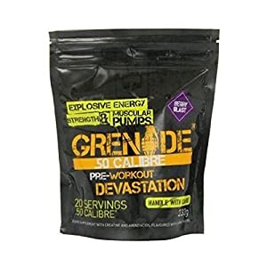 510lClGGDwL. SS300  - Grenade 50 Calibre Pre Workout