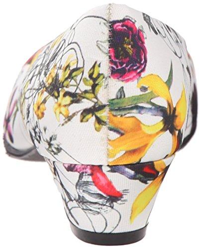 Soft Style by Hush Puppies Angel II Breit Rund Synthetik Stöckelschuhe White Spring Grosgrain