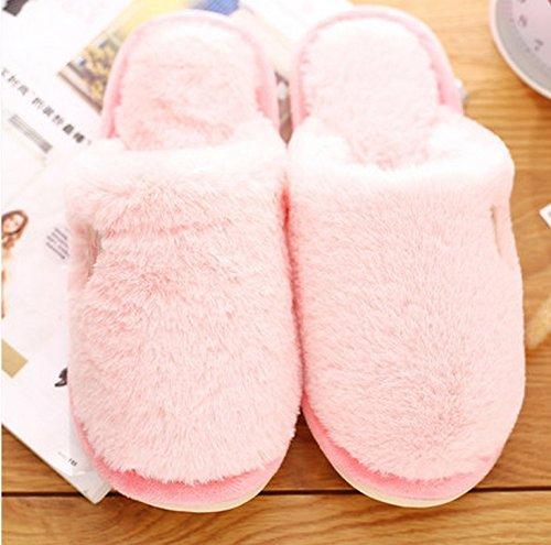 Pantoufles en coton pour l'hiver ( couleur : # 1 , taille : 40-41 ) # 1