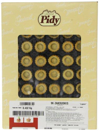 Pidy Zakouski Mini Round Vol Au Vent Cases x 96 -