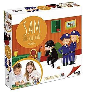 Cayro - Sam The Villain - Juego cooperativo y de representación - juego de mesa - Desarrollo de cooperación y liderazgo y Expresión verbal y comunicación - Juego de mesa (892)
